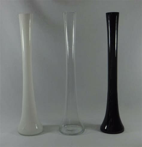 12 Inch Eiffel Tower Vases by 16 Inch Trumpet Tower Glass Vase For Decorating