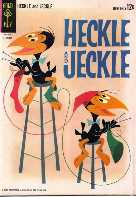 heckle  jeckle  dellgold key comic books