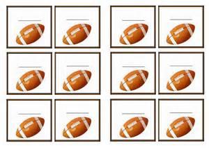Printable Football Name Tags