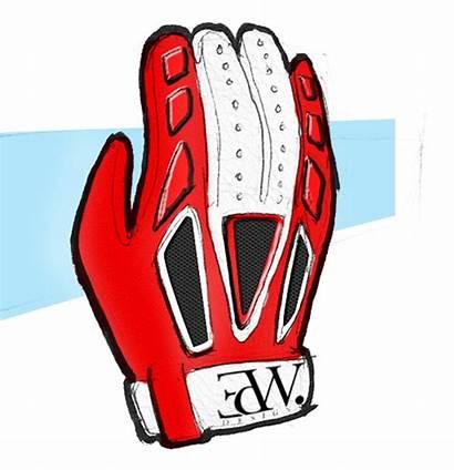 Baseball Glove Clipart Cartoon Mitt Cliparts Sketch