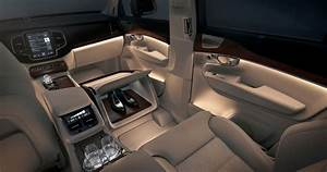 Volvo Xc90 Excellence Lounge Console Interior Concept