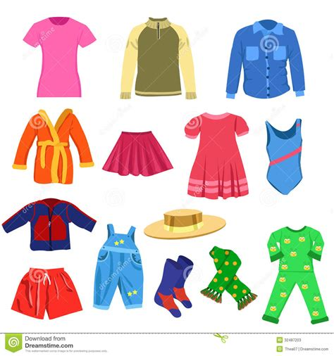 Clip Clothes Falling Clipart Clothes For Kid Pencil And In Color