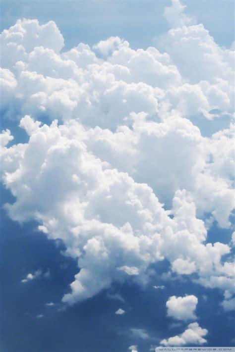 clouds aerial view  hd desktop wallpaper  wide