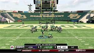 NCAA Football 13 Demo (Xbox 360): Kansas State at Baylor ...