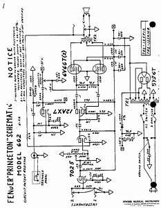 Fender Princeton Wiring Diagram