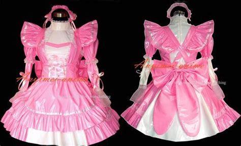 pretty kostüm pink pvc dienstm 228 dchen kost 252 m zofen lack g318 fenstersitze pink und