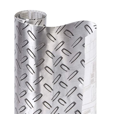 smart design metallic adhesive shelf liner