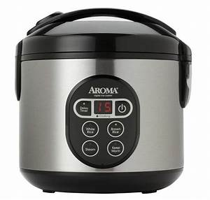 New 8 Cup Aroma Digital Rice Cooker Arc