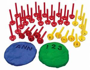playdough alphabet games for fine motor skills the With playdough letter stamps