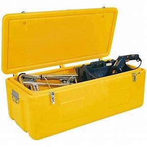 Coffre De Chantier : coffre de chantier haute visiblit jaune pour outillage ~ Dode.kayakingforconservation.com Idées de Décoration