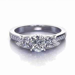 three stones engagement rings meaning images With marble wedding ring