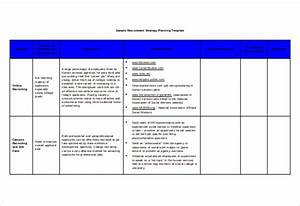 Recruitment strategy template 13 free word pdf for Strategic recruiting plan template