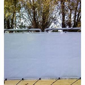 Brise Vue 50m : brise vue gris 10 m x 1 50 m ~ Edinachiropracticcenter.com Idées de Décoration