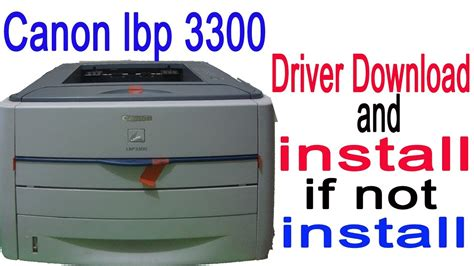 Télécharger pilote imprimante canon lbp6030b. Canon lbp 3300 Printer driver for windows 7,8,10 Download and install 64/32 bit - YouTube