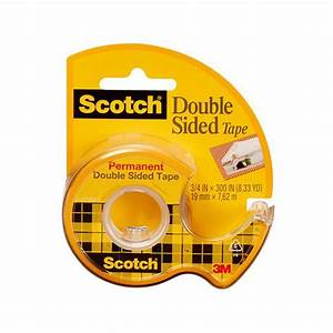 Scotch Double Face : scotch double sided tape permanent 1 2 inches wide ~ Melissatoandfro.com Idées de Décoration