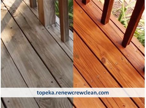 top deck cleaning  staining provider  topeka kansas