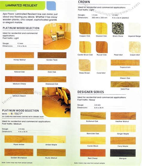 Apo Wood, Carpet, Granite, Marble Design Vinyl Flooring