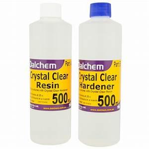 Crystal Clear Epoxy Resin Kit Resin and Hardener Dalchem