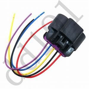 Maf Mass Air Flow Sensor 5 Wire Wiring Connector Pigtail