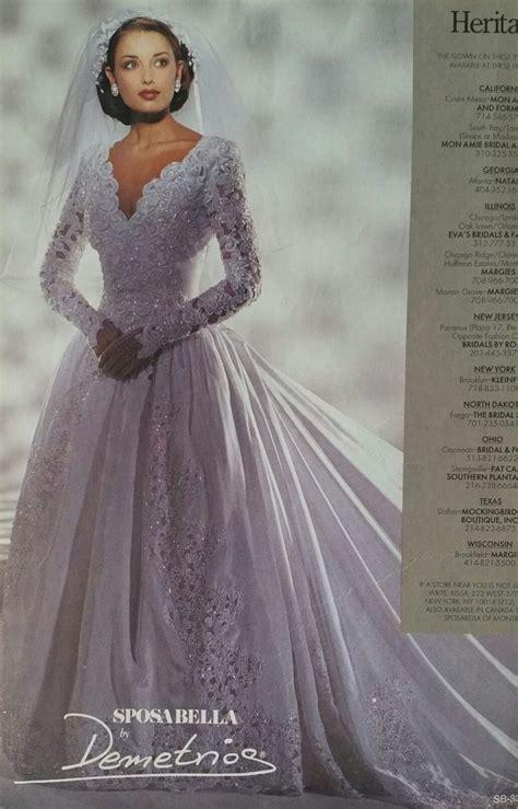 demetrios gown   brides magazine gorgeous wedding