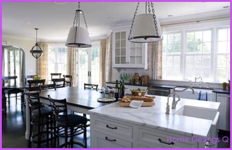kitchen island table designs kitchen island dining table design homedesignq com