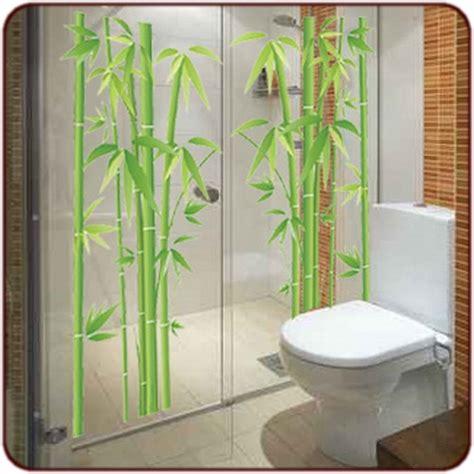 sticker bambou des bambous dans votre salle de bain