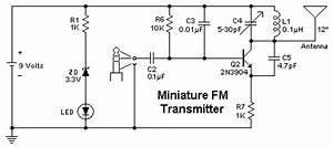 simple fm radio schematic simple free engine image for With easy fm transmitter