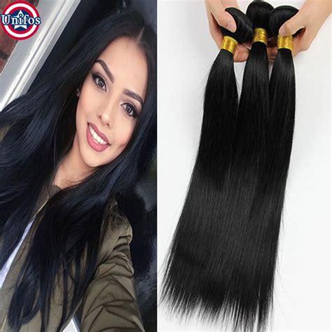 Mapepe Hair Clip Black 2 Pcs 6a hair 3 bundles human hair