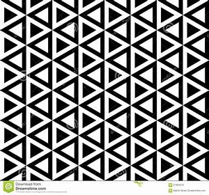 Black And White Seamless Pattern Stock Vector - Image ...
