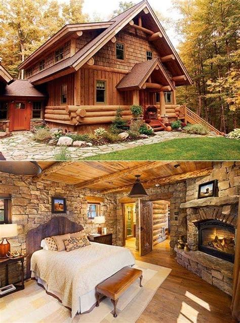 pin by tracy carmody on home log stone timber log