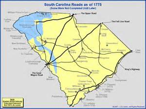Colony South Carolina Roads