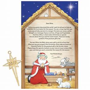inspirational personalized letter from santa With miles kimball letter from santa
