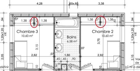 taille chambre dessiner des plans fonctionnels conseils thermiques