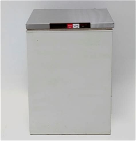 small chest freezer  stainless steel workbench top
