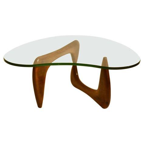 noguchi style coffee table isamu noguchi style walnut coffee table at 1stdibs