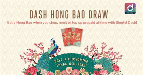 Usher In The Lunar New Year With Singtel Dash Hong Bao