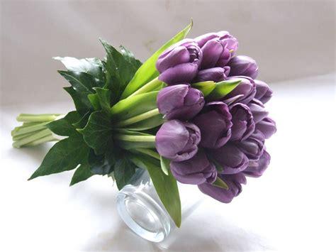sandras flower studio spring tulip wedding flowers