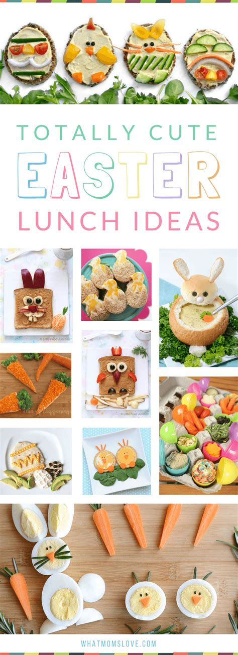 easter lunch ideas a day s worth of creative easter eats breakfast lunch snack treats oh my what moms love