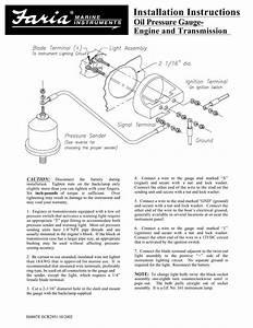 Farium Outboard Tachometer Wiring Diagram