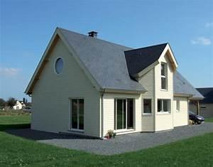 maisons ossature bois avec bardage de couleurs With prix gros oeuvre maison 5 plan de maison entreprise de construction sur namur et