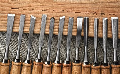 se wc professional  piece wood carving chisel set