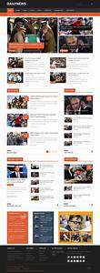 dailynews news joomla template With news site template free download