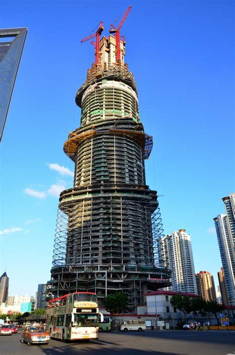 world  architecture shanghai tower construction