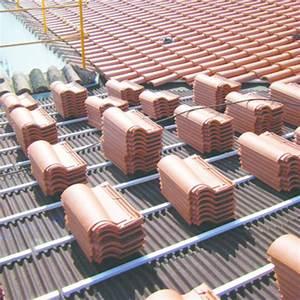 Plaque Alvéolaire Pour Toiture : plaques bitum es de sous toiture pour tuiles canal ~ Edinachiropracticcenter.com Idées de Décoration