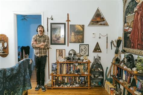 Society6 Home Decor : Inside The Unbelievably Decorated Home Studio Of Michael