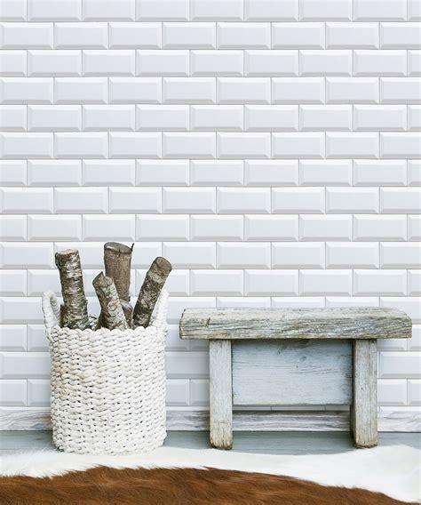 white subway tiles removable wallpaper milton king uk