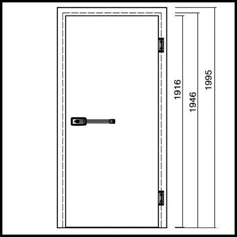 dimension d une porte porte de chambre froide en aluminium galvanis 233