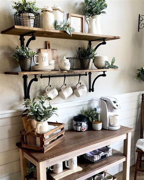 Whether it's personalized, modern, vintage, or humorous. 27 Affordable Coffee Station Design Ideas That You Need To Look - NEEDECOR