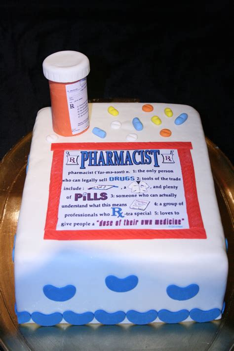 pharmacist cake cakecentralcom