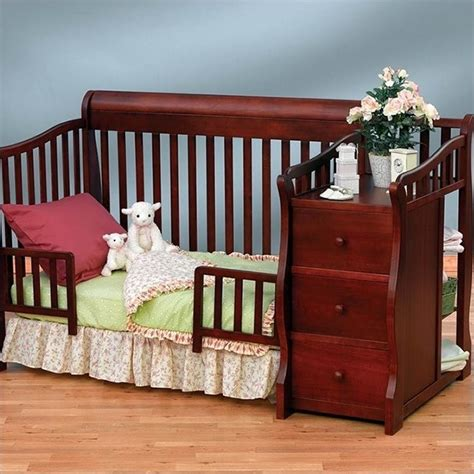 sorelle crib and changer sorelle tuscany more 4 in 1 convertible crib and changer